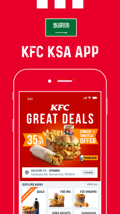 Download KFC Saudi Arabia for Android