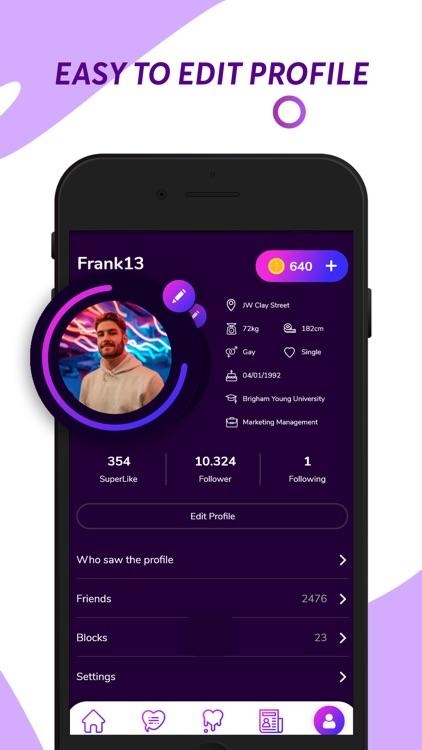 GChat - Gay Chat & Dating screenshot-5