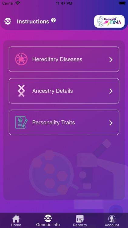 Unlock MyDNA screenshot-4