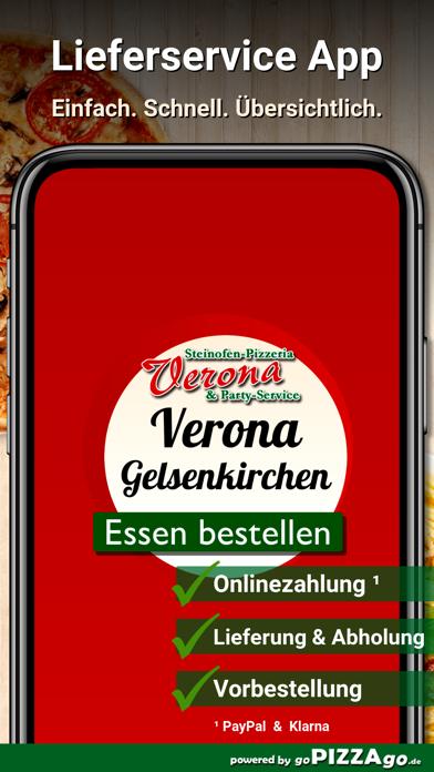 Pizzeria Verona Gelsenkirchen screenshot 2