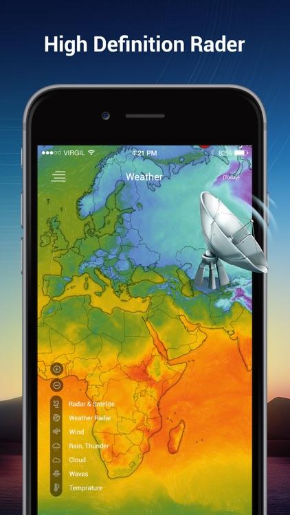 Weather & Radar Live screenshot-4
