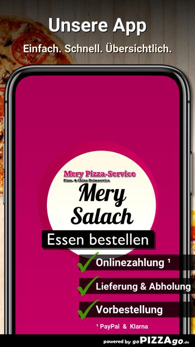 Mery Pizza-Service Salach screenshot 1