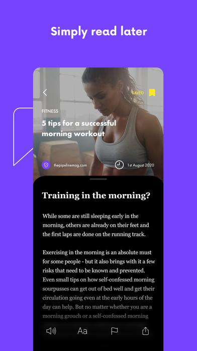 pipeline: AI based magazineScreenshot of 8