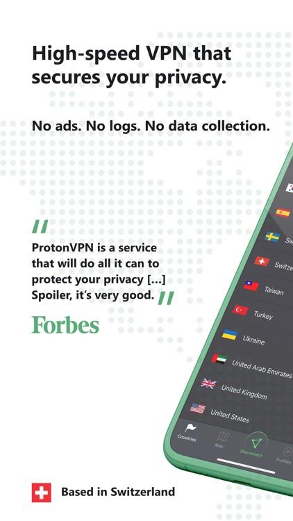 ProtonVPN - Fast & Secure VPN screenshot-0