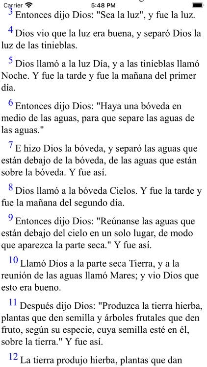 Español Santa Biblia (Modern) screenshot-3