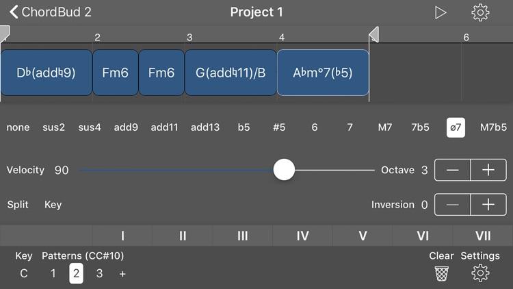 ChordBud 2 AUv3 MIDI Sequencer screenshot-6