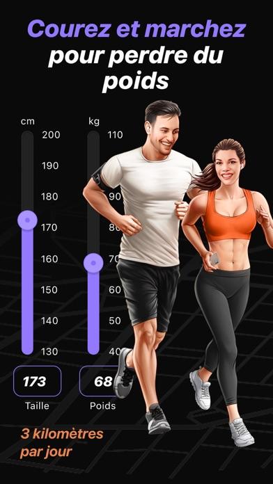 Courez et marchez pour maigrir