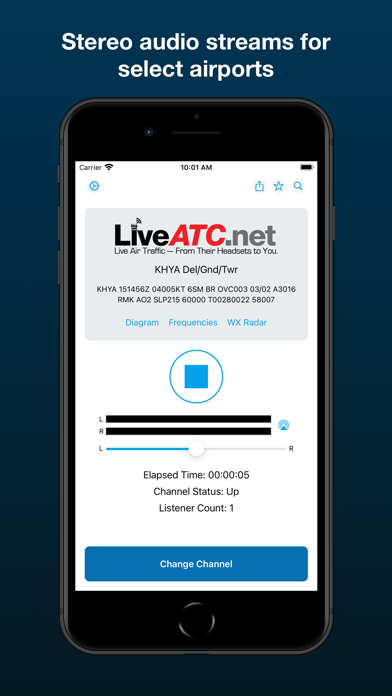 LiveATC Air Radio Screenshots