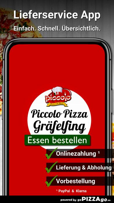 Piccolo Pizza Gräfelfing screenshot 1