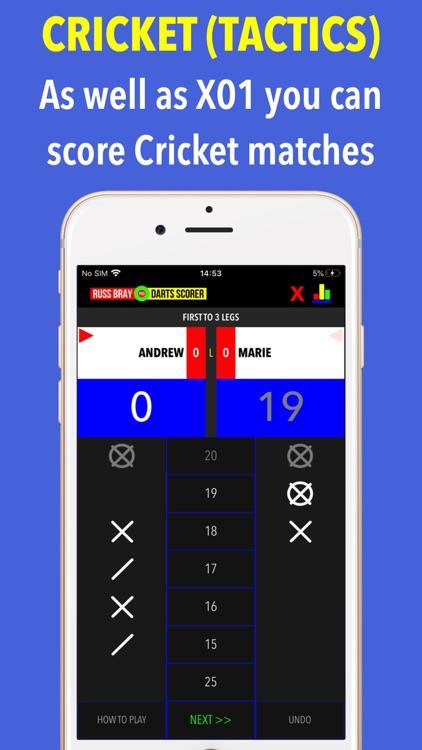 Russ Bray Darts Scorer screenshot-3