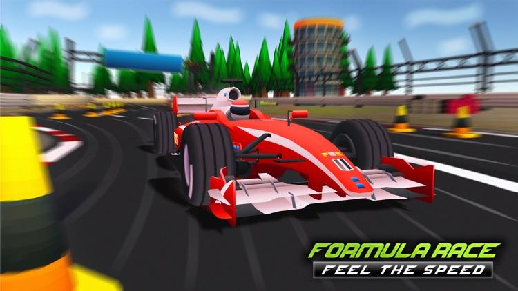 Mega Formula Cars - 3D Racing