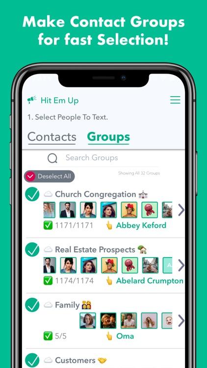 Hit Em Up Mass Text   Bulk SMS screenshot-5