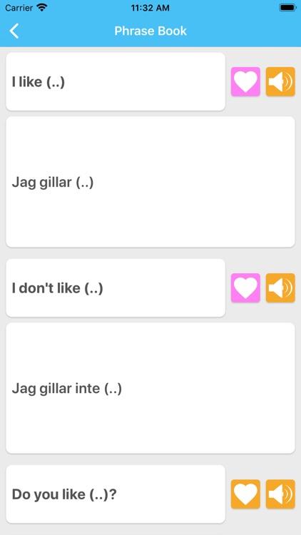 Learn Swedish LuvLingua Pro screenshot-3