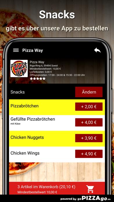 Pizza Way Soest screenshot 6