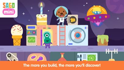 Sago Mini Space Blocks Builder screenshot 3
