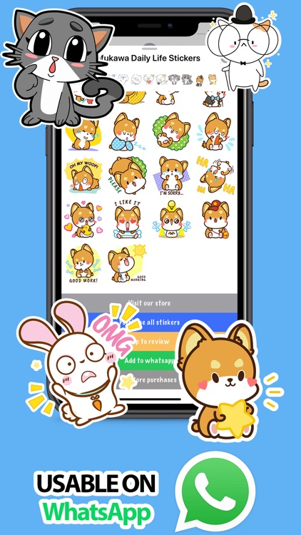 Mofukawa Daily Life Stickers