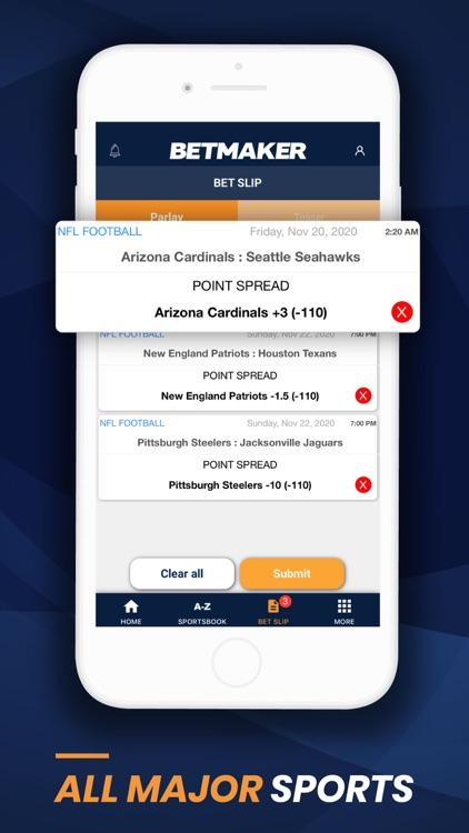 BetMaker™ Sports Betting App screenshot-4