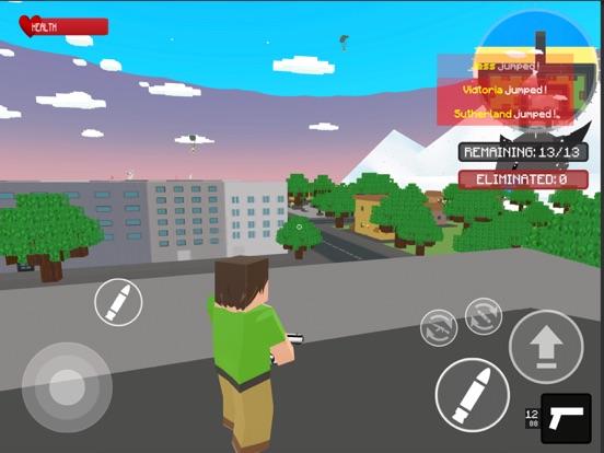 Ipad Screen Shot World Craft Battle Royale 3