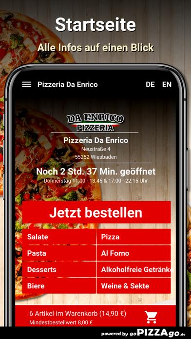 Pizzeria Da Enrico Wiesbaden screenshot 2