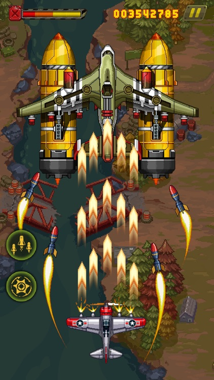 1945 - Airplane shooting games screenshot-6