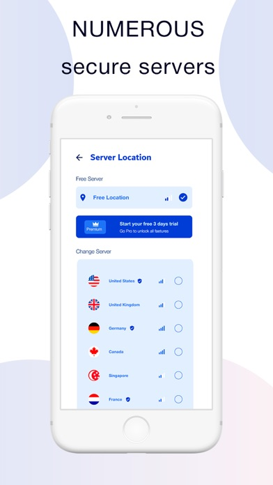 Ether VPN - Light and Secure Screenshot