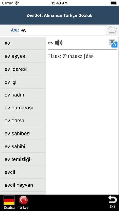 messages.download Almanca Türkçe Sözlük -Zensoft software