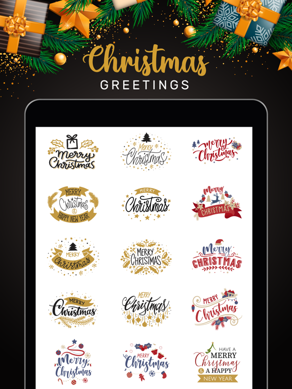 Christmas Lettering Stickers! screenshot 6