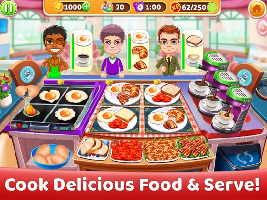 Delicious World Food Cooking screenshot 6