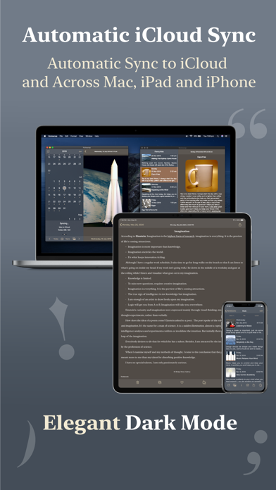 Notewrap - Book & Blog Writer屏幕截图9