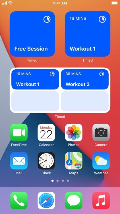 Timed: Workout Timer screenshot-9