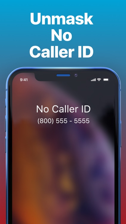 TrapCall: Reveal No Caller ID