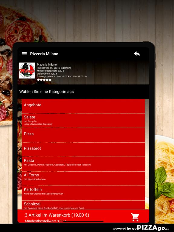 Pizzeria Milano Ingelheim screenshot 8