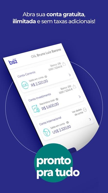BS2: Pix, Cartão e Finanças screenshot-3