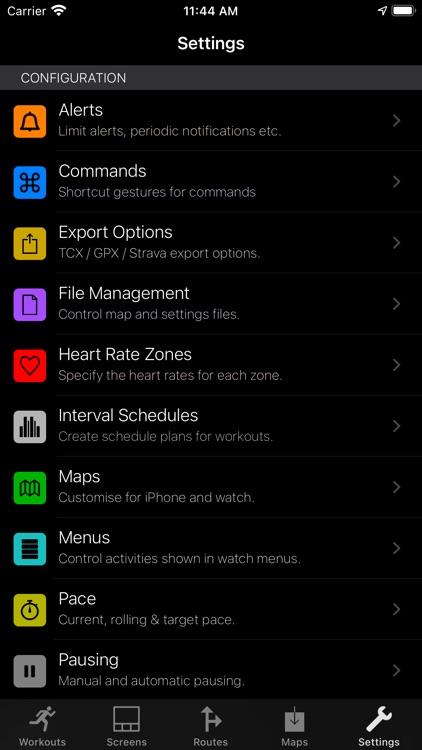 WorkOutDoors screenshot-3