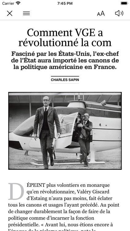 Kiosque Figaro : le Journal screenshot-4