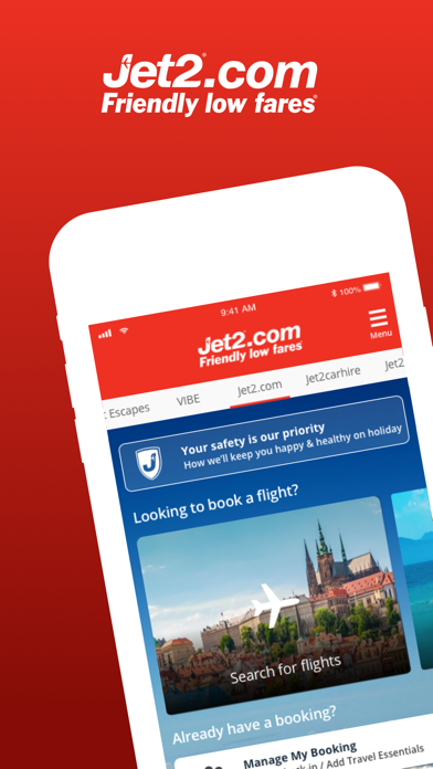 Jet2.com - Flights Travel App screenshot one