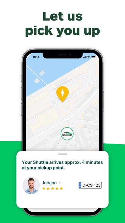 CleverShuttle: Ridesharing screenshot-3