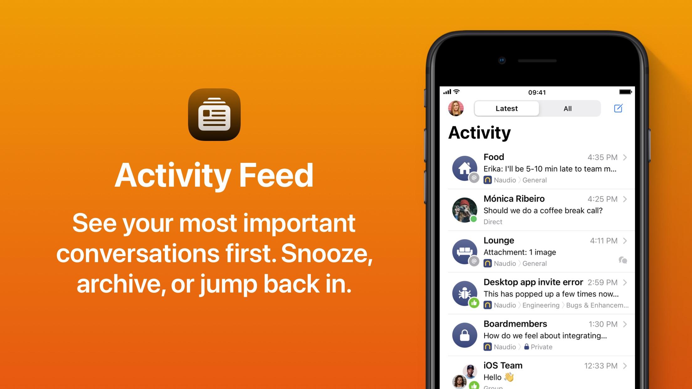 Screenshot do app Quill Chat