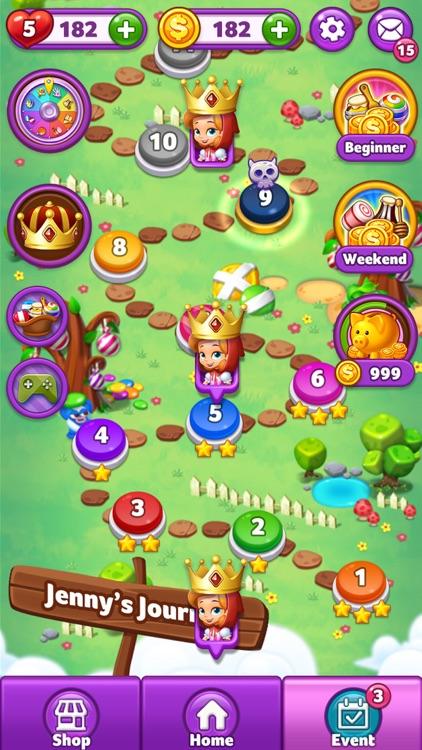 Lollipop: Sweet Taste Match3 screenshot-3