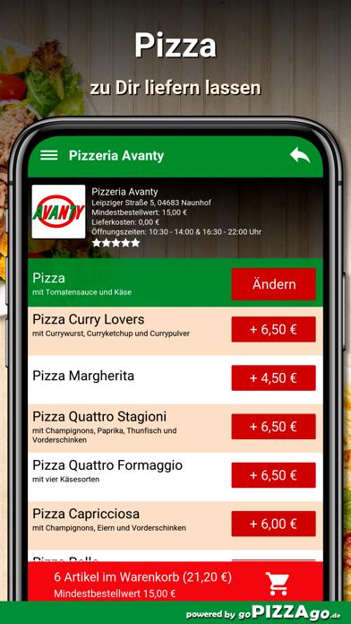 Pizzeria Avanty Naunhof screenshot 5