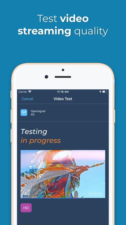 Opensignal Internet Speed Test screenshot-3