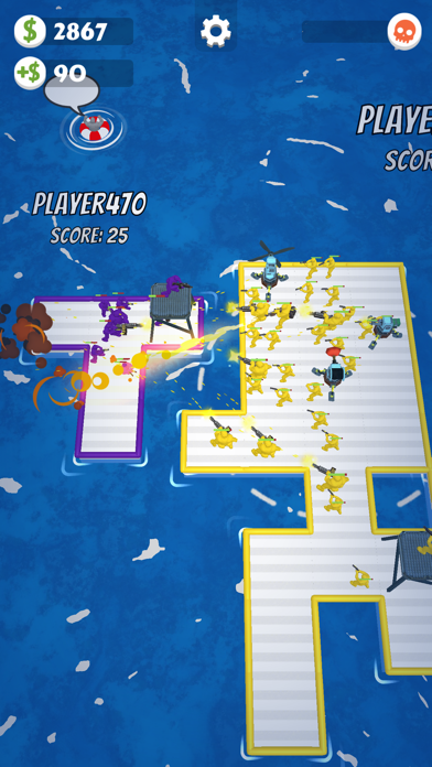 War of Rafts: Naval Battle screenshot 2