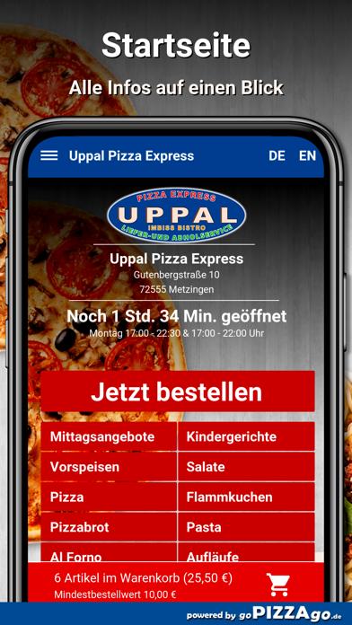 Uppal Pizza Express Metzingen screenshot 2