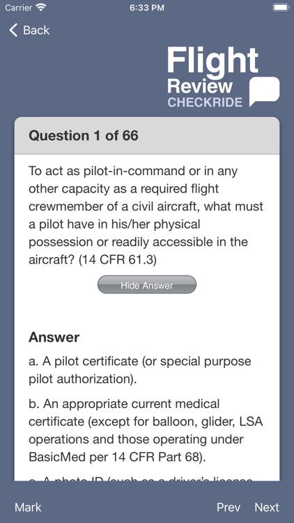 Flight Review Checkride screenshot-3