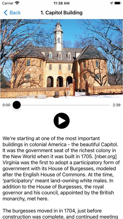 Colonial Williamsburg History