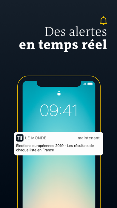 Le Monde, Actualités en direct Screenshot