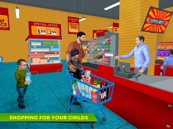 Virtual Single Dad Taxi Driver screenshot 8