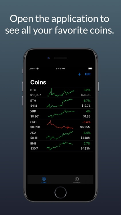 CoinWidget - Bitcoin and more screenshot-3