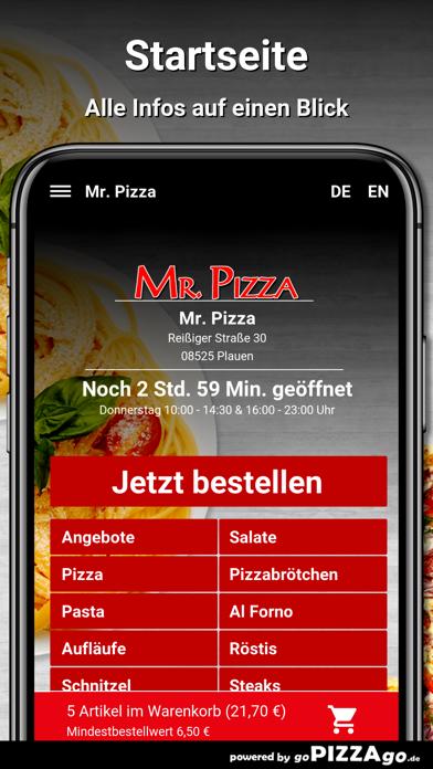 Mr. Pizza Plauen screenshot 2