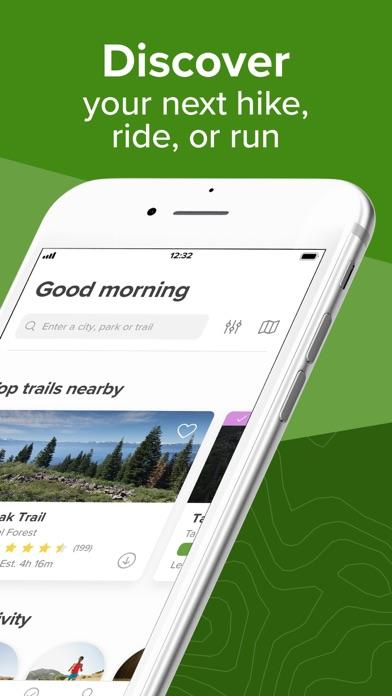 AllTrails: Hike, Bike & Run Screenshot